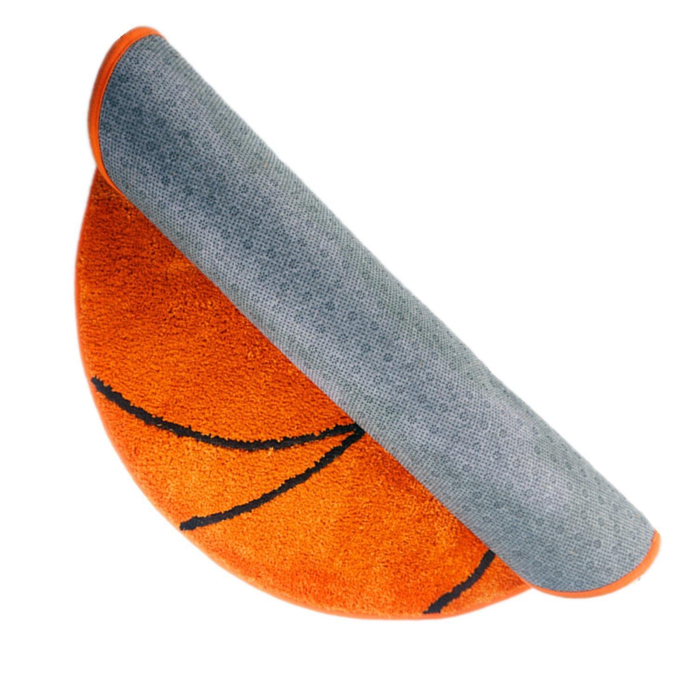 KINIFE Basketball Pattern Bath Mat Carpet Indoor Carpet Living Room Bedroom Carpet COMIN18JU062901 Bathmats