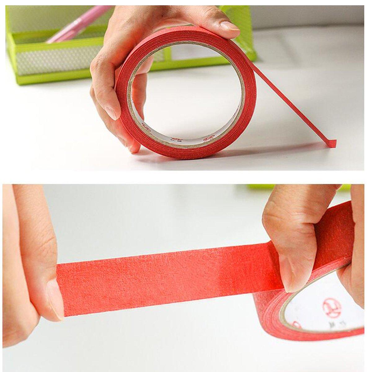 20/M multicolore nastro adesivo per la stampa notes adesivo scrapbooking etichetta DIY Arts kit per bambini piccoli pezzi Nanhua Rainbow Sticky Paper 20/mm
