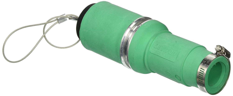 Rhino-Hide Single Pole Connector 313MCM To 777MCM Cable Crimped Leviton 49FSL-B Female Plug Insulator Blue