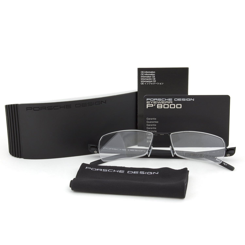 5d514231d32a Amazon.com  Porsche Men s P8210 D Eyeglasses