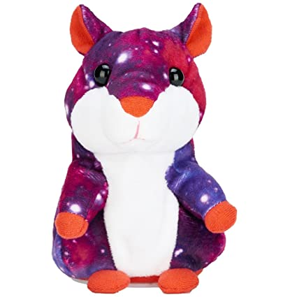 Amazon Com Anyback Talking Hamster Repeats What You Say Plush