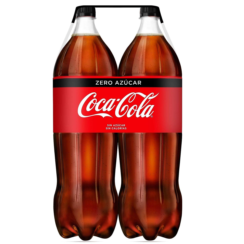 Coca-Cola - Zero, Botella de Plástico 2 L (Pack de 2): Amazon.es: Alimentación y bebidas