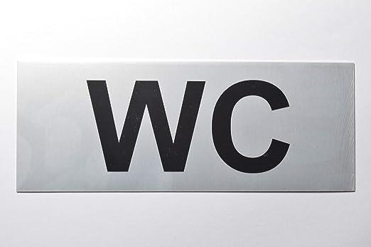 Sivoss Cartel para Inodoro, 13 x 5 cm, Autoadhesivo, para ...