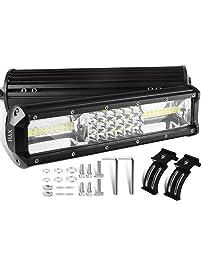 Amazon light bars accent off road lighting automotive xyh led light bar mozeypictures Choice Image