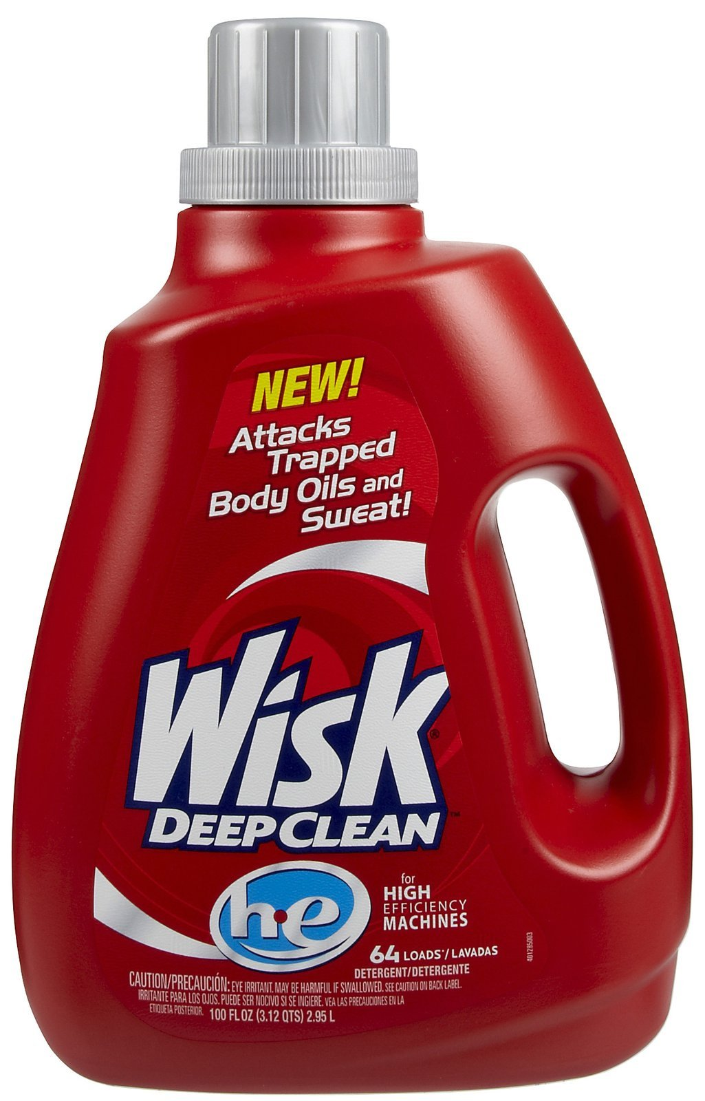 Wisk Deep Clean Laundry Detergent for HE Washing Machines (100-Ounce, 4-Pack)