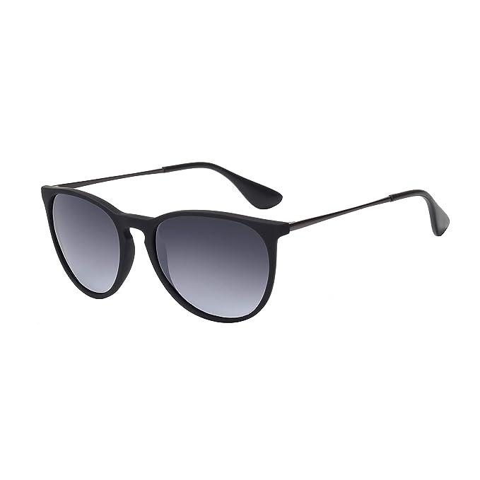 Amazon.com: Gafas de sol redondas vintage para mujer ...