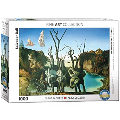 EuroGraphics Salvador Dalí Swans Reflecting Elephants Puzzle (1000 Piece): Toys & Games