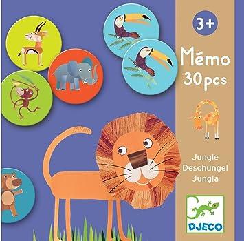 DJECO- Juegos de acción y reflejosJuegos educativosDJECOEducativos Memo Jungla, (15)