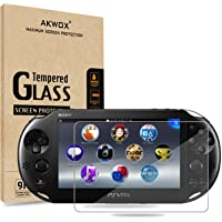 (Pack of 2) Screen Protector For PS Vita 2000, Akwox Premium HD Clear 9H Tempered Glass Screen Protective Film For Sony…