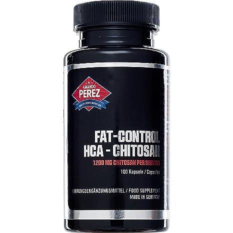 Control de grasa HCA Chitosan - Bloqueador de grasa Bloqueador de grasa - 1200 mg por