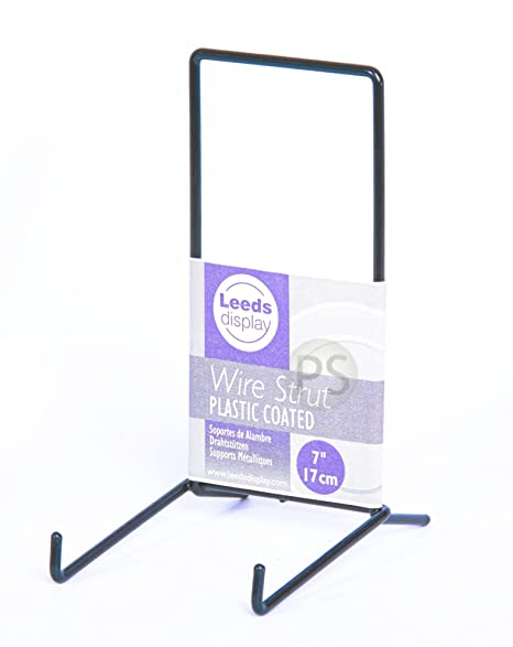 Display Stand Large Black Wire Strut 40 140cm ST40BL Plate Stunning Wire Display Stands Uk