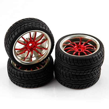 yiguo 1/10 Escala En Carretera Coche RC ruedas y neumáticos para HSP HPI Himoto