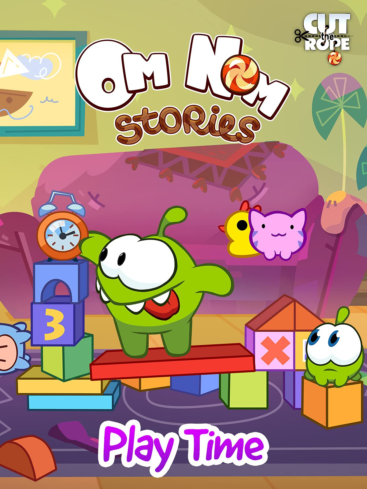 Cut The Rope: Om Nom Stories - Play Time