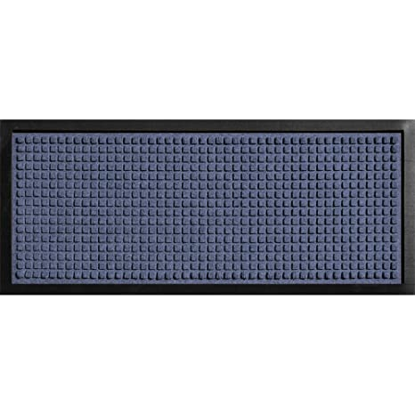 f9d732751b1ef Amazon.com : Aqua Shield Boot Tray Squares Navy 15 in. x 36 in. Pet Mat :  Garden & Outdoor
