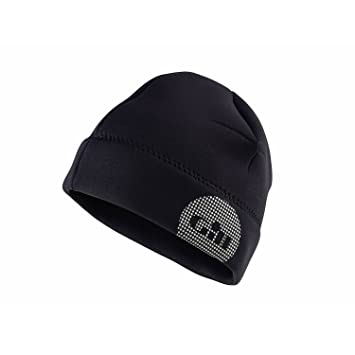 58ea22f76a5 Gill Thermoskin 2.5MM Neoprene Beanie Winter Hat In Black - Unisex with  thermal insulation  Amazon.co.uk  Sports   Outdoors