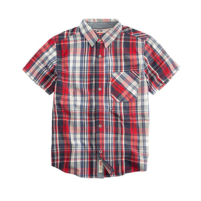 08308f0a3a Levi s Big Boy s The Smith Short Sleeve Shirt  Amazon.ca  Clothing    Accessories