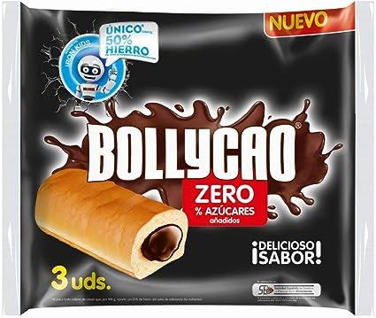 Bollycao Zero - 3 unidades - 180 g: Amazon.es: Alimentación y bebidas