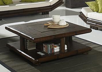 Möbel Bressmer Couchtisch Bambus Tao Schwarz Bambustisch