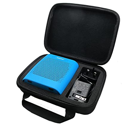 04c7db11589 Amazon.com  co2CREA(TM) for Bose Soundlink Color Wireless Bluetooth Speaker  Semi-Hard EVA Carrying Travel Storage Case Bag (Storage Case Black)  Cell  Phones ...