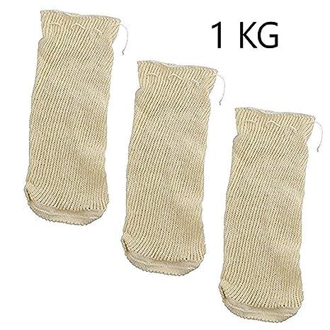 EUROXANTY® | Malla Cocción | Bolsa Legumbres | Set de 3 unidades | 1 Kg