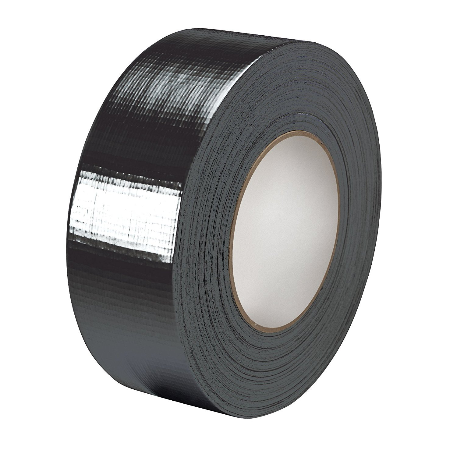 Premium Black Duct tape – 48 mm x 50 m – Heavy Duty (5, 1 cm) – Nastro adesivo – Rotolo di alta qualità di Gocableties