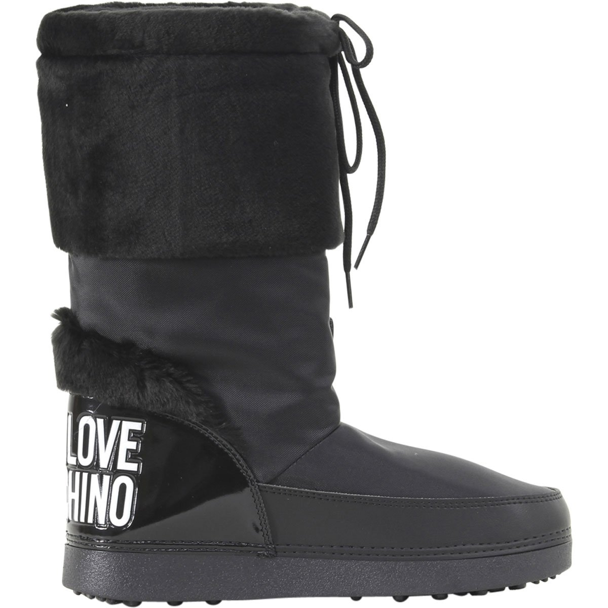 Love Moschino Women's Moon Boots Black 41 M EU by Love Moschino (Image #4)