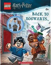 LEGO Harry Potter: Back to Hogwarts Activity Book + minifigure