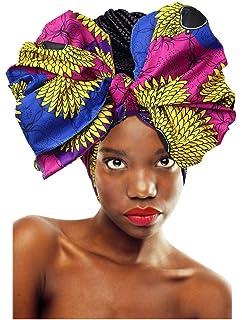 LVOW Women Soft Stretch Headband Long Head Wrap Scarf Turban Tie
