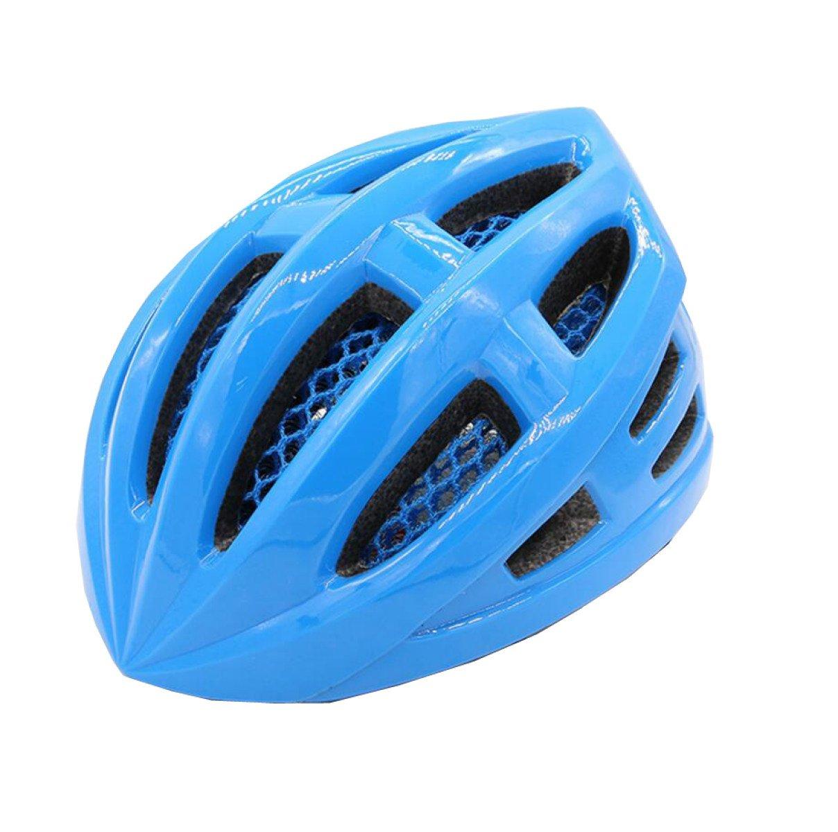 Reithelm Mountainbike Helm Helm Verstellbare Schutzhelm Sportliche Schutzausrüstung,Blau