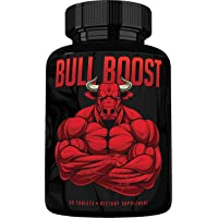 Bull Boost Testosterone Booster for Men - Enlargement Supplement - Increase Size...