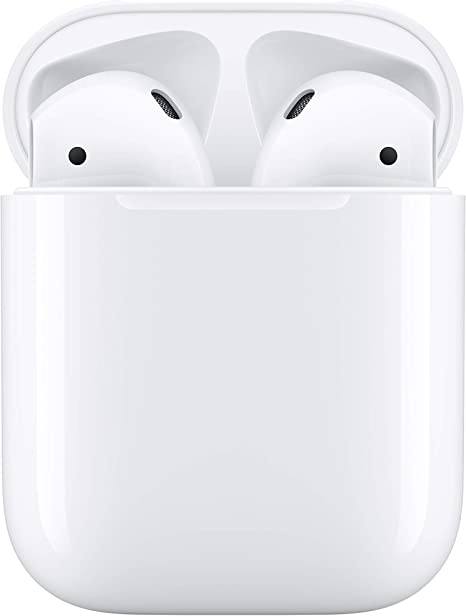 Apple AirPods con estuche de carga con cable (2.ª generación): Apple: Amazon.es