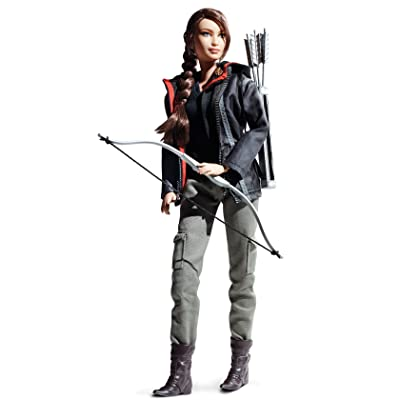Barbie Collector Hunger Games Katniss Everdeen Doll: Toys & Games