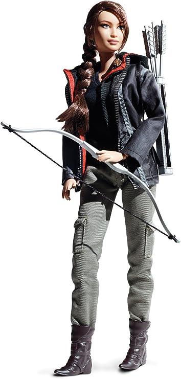 Amazon.com: Barbie Collector Juegos del Hambre Katniss ...