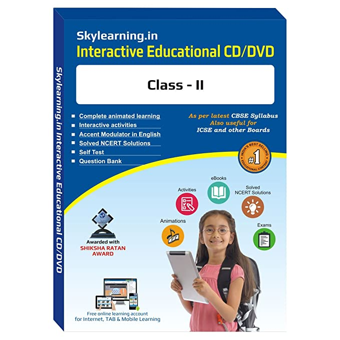 Amazon in: Buy Skylearning CBSE Class 2 CD/DVD Combo Pack (English