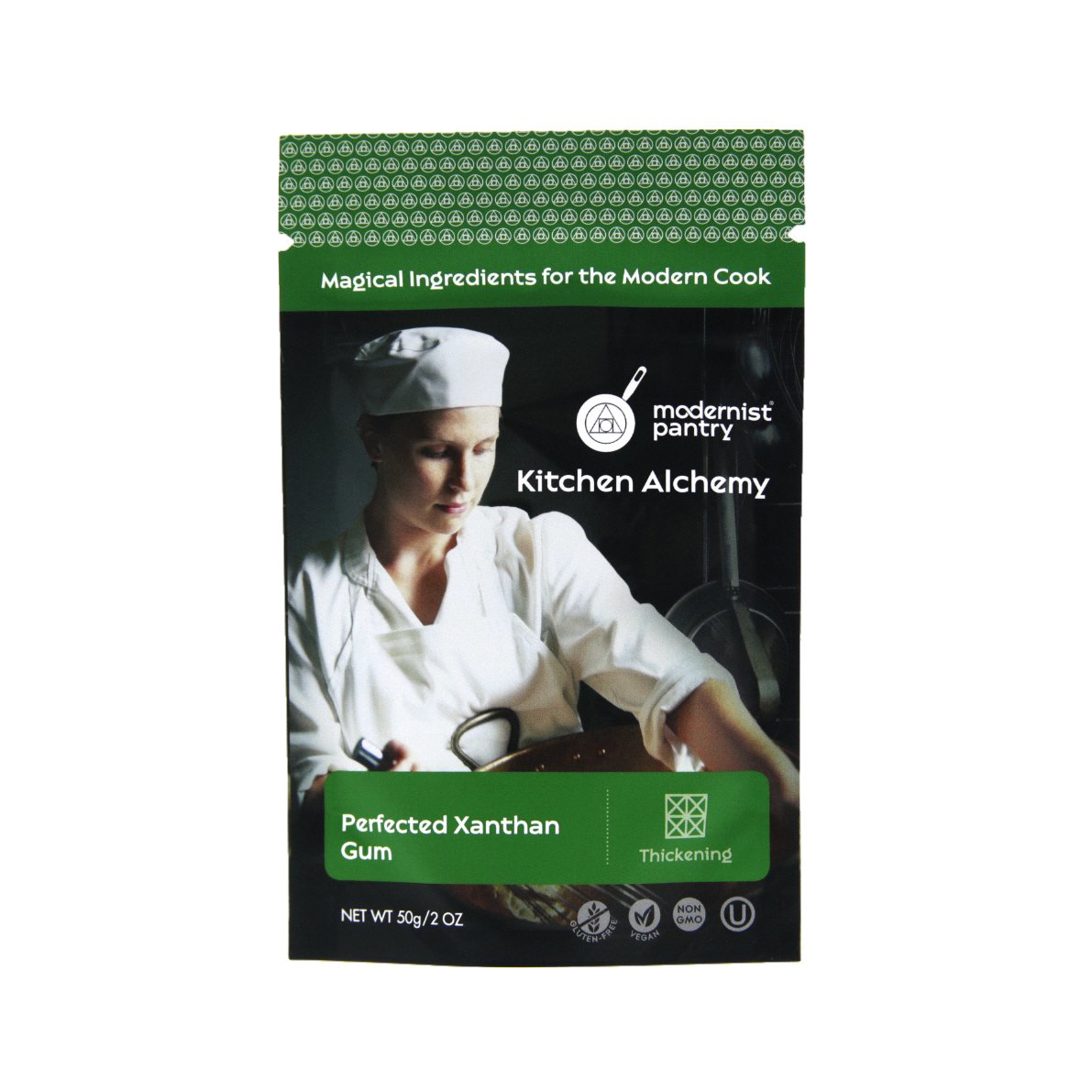 Perfected Xanthan Gum ⊘ Non-GMO ❤ Gluten-Free ☮ Vegan ✡ OU Kosher Certified - 50g/2oz
