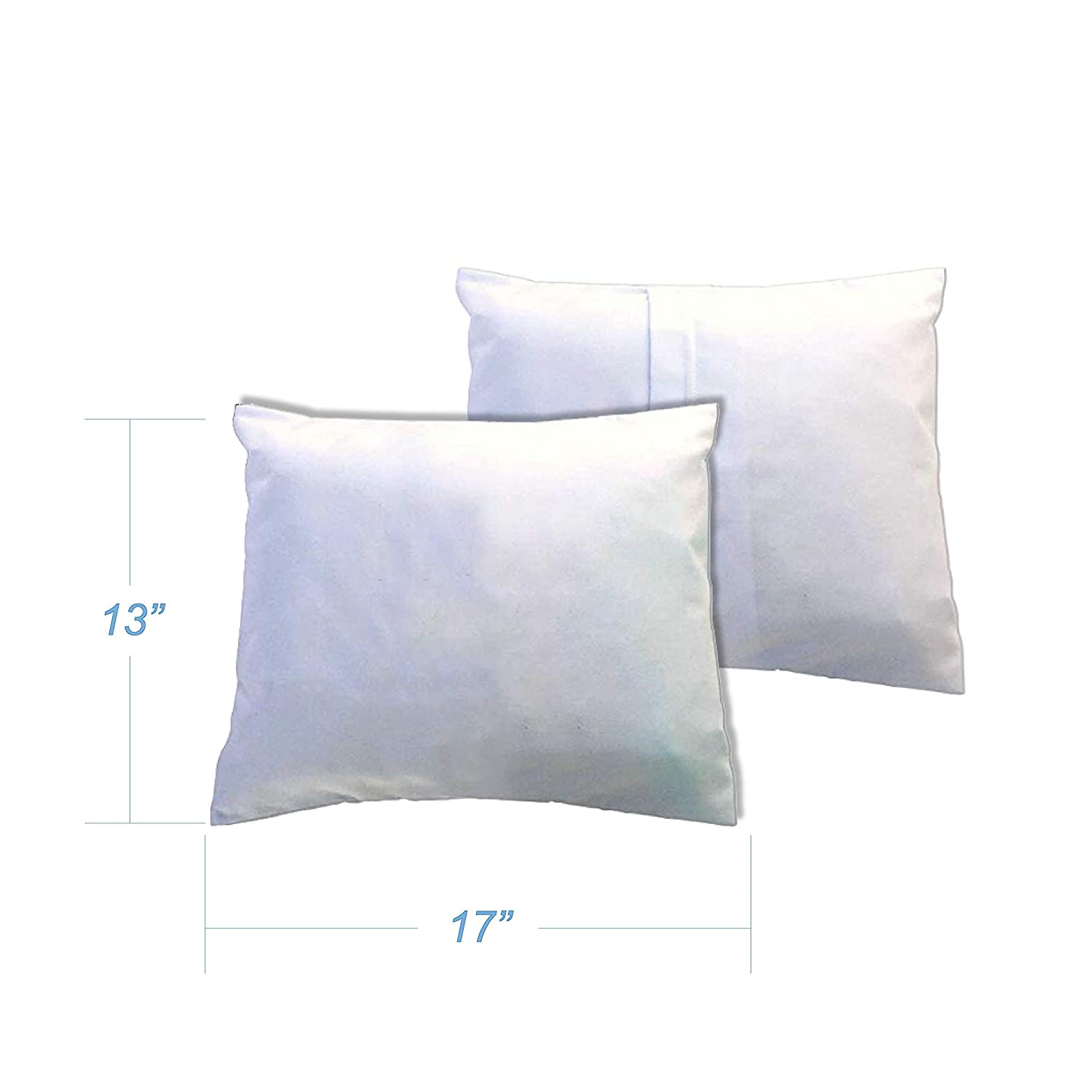 Percale Pillow Case Light Solids Baby Pillow Case SheetWorld Made In USA White