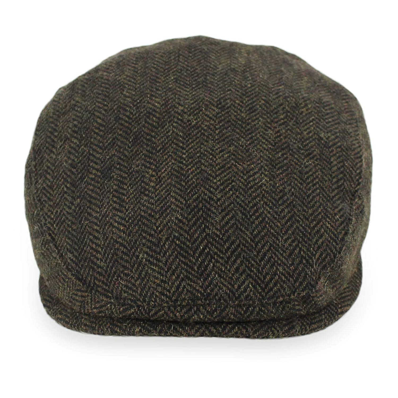Belfry Wool Blend Tweed Flat Caps Mens Womens 5 Colors