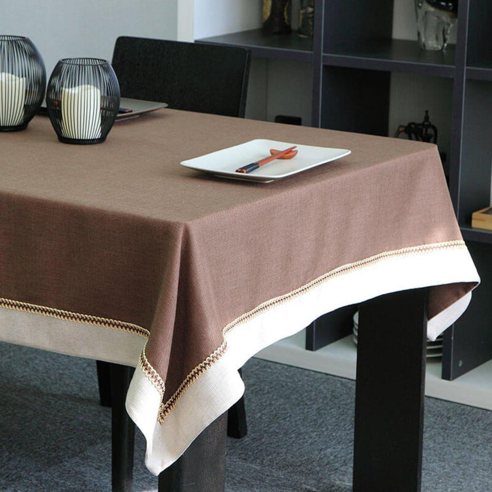 Shuangdeng 現代のシンプルな中国のコーヒーテーブルテーブルクロス、テーブルクロス、台所のための長方形のテーブルクロス、コーヒーテーブル (Color : B, サイズ : 140x220cm(55x87inch)) 140x220cm(55x87inch) B B07S9PNGYC