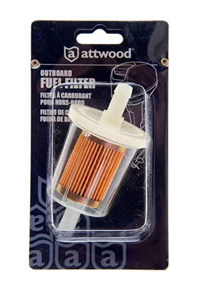 Amazon.com : Attwood Outboard Fuel Filter : Boat Fuel Filters ...