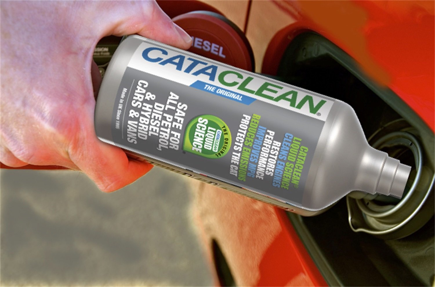 Cataclean 120009CAT Cataclean Fuel And Exhaust System Cleaner For Truck/Fleet/Industrial Applications Safe For Gas/Diesel/Hybrid Vehicles 5 Liters Cataclean Fuel And Exhaust System Cleaner