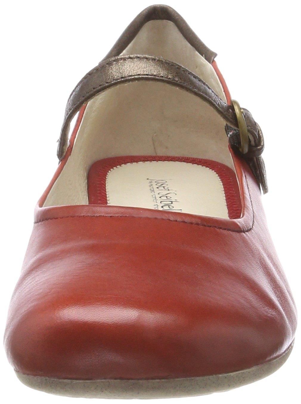 Josef Seibel Damen Fiona 25 (Carmin-kombi) Geschlossene Ballerinas Rot (Carmin-kombi) 25 2b8f85