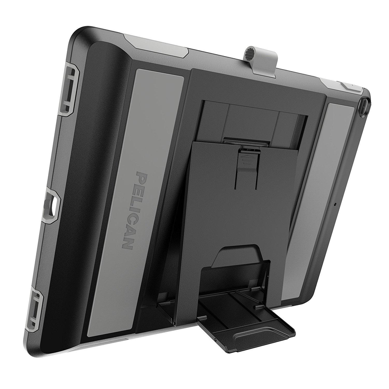 Pelican Voyager iPad Pro 12.9'' Case (1st/2nd Generation) - Black/Grey