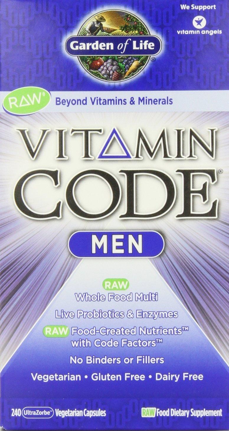 Vitamin Code Raw Men s Multi 240 ct Pack of 2