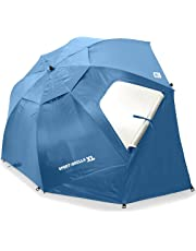 Sport-Brella XL Vented SPF 50+ Sun and Rain Canopy Umbrella for Beach and Sports Events (9-Foot)