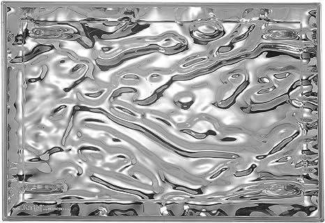 Kartell Dune - Bandeja , Gris (Chrome), 55 x 38 x 3 cm: Amazon.es: Hogar