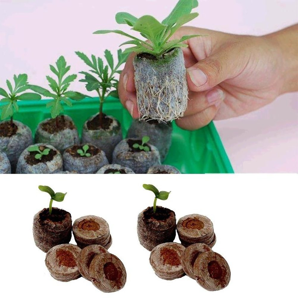 CqmzpdiC Easy to Use, Gardening Supplies Nursery Seedling Soil Block Starter Pallet Garden Flowers Planting Cultivate