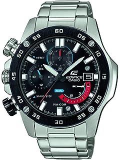 3ae6a459295c Casio Reloj Cronógrafo para Hombre de Cuarzo con Correa en Acero Inoxidable  EFR-558DB-