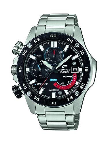 Casio Reloj Cronógrafo para Hombre de Cuarzo con Correa en Acero Inoxidable EFR-558DB-1AVUEF