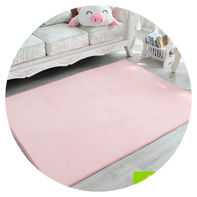 Show-Show-Fashion Shop&Ultra Soft Thick Foam Absorbent Mat Coral Velvet Kitchen Mat Anti-Slip Bathroom Carpet Kitchen Rug Home Entrance Door Mat,Pink,60cm x 160cm