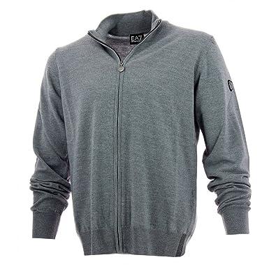 Emporio Armani Gilet EA7 (Gris) - S  Amazon.fr  Vêtements et accessoires 4de1ee5c3bd